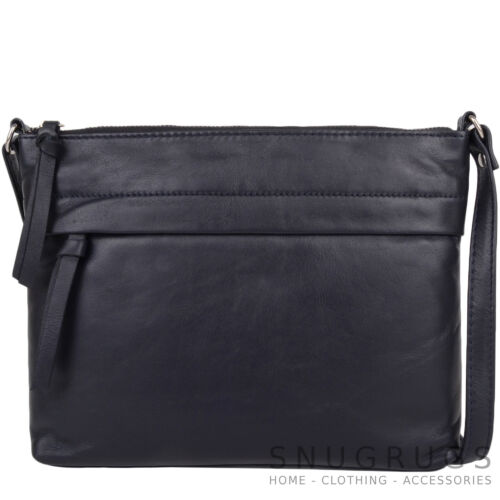 Leather donna Crossed Shoulder Borsa Soft g7RHW7I01