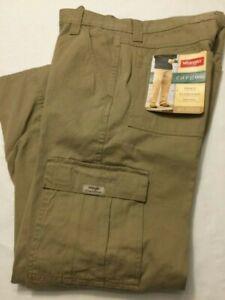 Nuevo Con Etiquetas Para Hombres Wrangler Cargo Relaxed Fit Pantalones De Color Caqui 70 Lewgr Tech 7 Pantalones De Bolsillo Ebay