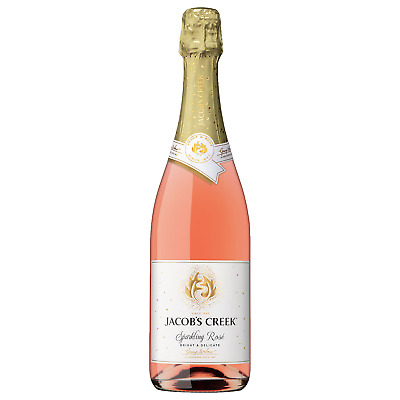 Jacob's Creek Sparkling Rose bottle Chardonnay Pinot Noir Sparkling Rosé Wine
