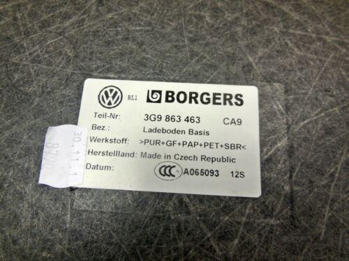 COPERCHIO BAGAGLIAIO PAVIMENTO DI CARICA NERO 3g9863463 ca9 VW Passat 3g b8