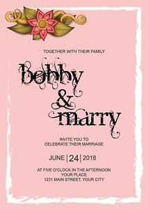 Wedding Invitations Cards Designs Wpart Co