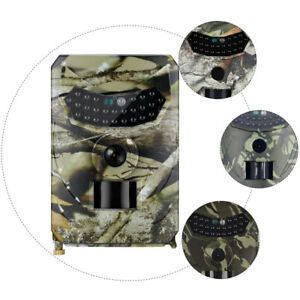 1080P Caméra de Surveillance de Faune Vision Nocturne Surveillance étanche 12MP