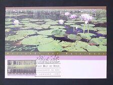 AUSTRALIA MK 1992 FLORA SEEROSEN WATER LILY MAXIMUM CARD MC CM d1713