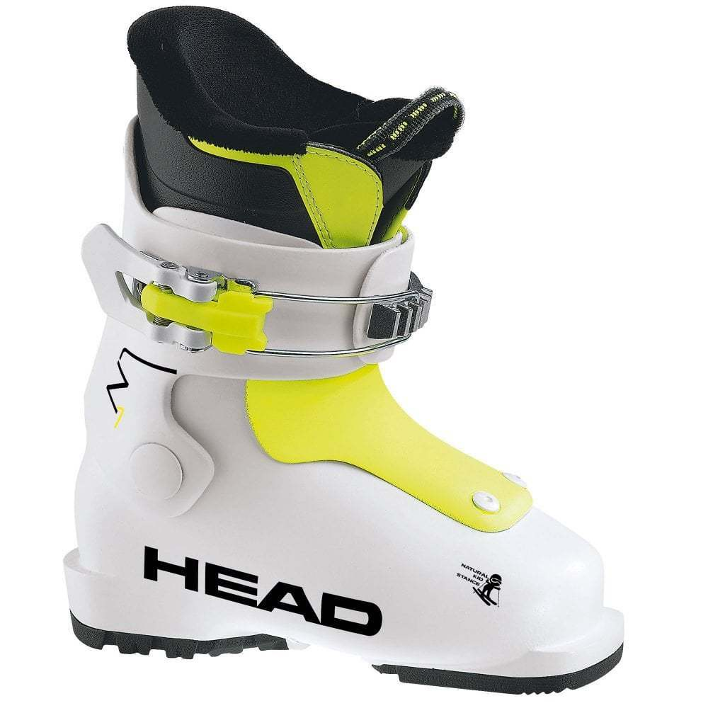 HEAD  kids ski boots little kids alpine ski boots white yell Head Z1 pair New 19  be in great demand