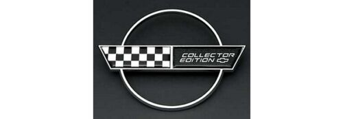 1996 Corvette Collector Edition Fuel Door Emblem Reproduction