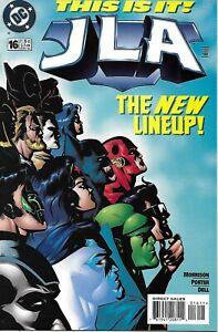 JLA-Comic-Issue-16-Modern-Age-First-Print-1998-Grant-Morrison-Porter-Dell-DC