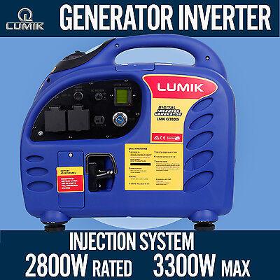 1kVA Rated / 1.2kVA Max Generator Pure Sine Inverter Portable Camping Caravan
