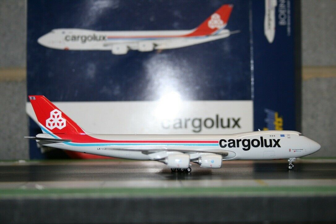 ahorrar en el despacho Gemini Jets 1 400 Cochegolux Boeing 747-8F LX-VCB (gjclx (gjclx (gjclx 1175) modelo de avión  hasta 60% de descuento
