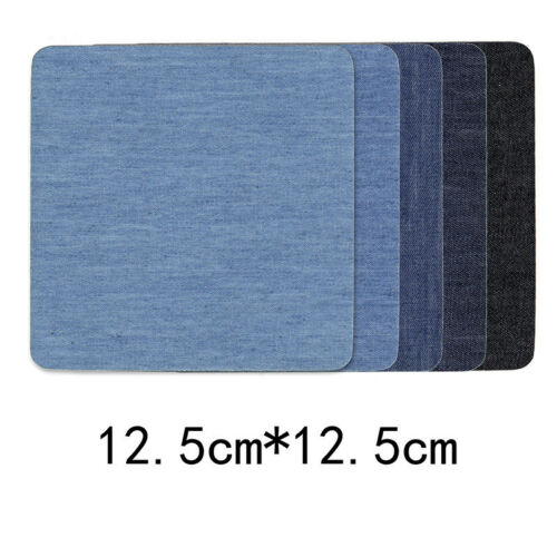 5PCS//10PCS DIY Sticky Iron Denim Patches Clothes Iron On Jeans Sewing Repair