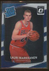 2017-18 Donruss Optic LAURI MARKKANEN Rated Rookie #159 Bulls