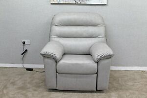 G-Plan-Dinton-Grey-Designer-Leather-Elevate-amp-Rise-Armchair