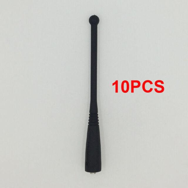 "10pcs UHF Whip Antenna for MOTOROLA HT1000 JT1000 PR1500 Portable Radios 5.2/"""