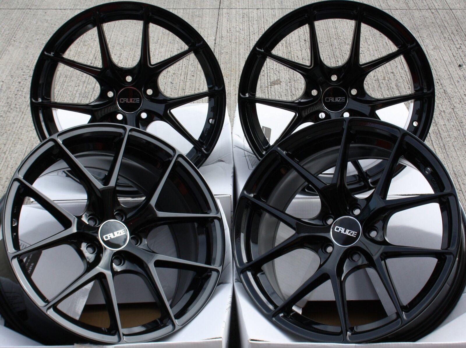 Alufelgen 18   Glanz black Gto für Vauxhall Astra Corsa Signum Vectra Zafira