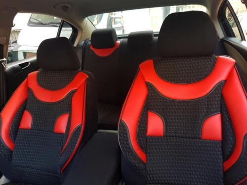 Fundas para asientos ya referencias para bmw 1er negro-rojo no1760368 set