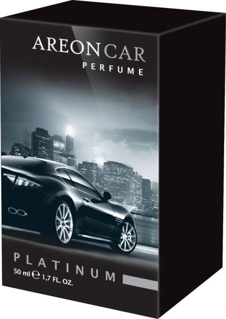 Air Freshener Home Office Car Luxury Areon Perfume Platinum 50ml