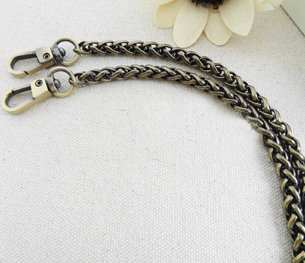 Hot Exquisite 20-120CM Chain For Handbag Shoulder Strap Bag Bronze A909