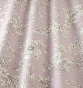 Das Bild Wird Geladen Iliv Shabby Chic Flowery Aquitaine Dusky Pink Curtain