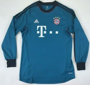official photos 92aaf 3ce19 Details about MANUEL NEUER PRINTING 2013/14 FC Bayern Munich Goalkeeper  Jersey Medium M Goalie