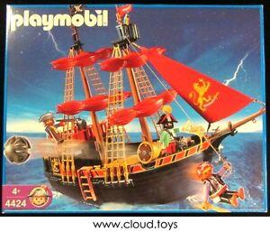 pirate boat set 4424 Playmobil pièce pour bateau pirate
