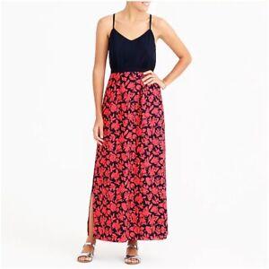 J-Crew-In-Geometric-Petite-Maxi-Dress-With-Printed-Skirt-US-Petite-2
