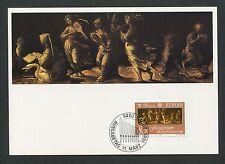 LIECHTENSTEIN MK 1985 EUROPA CEPT MUSIK MUSIK CARTE MAXIMUM CARD MC CM d2431