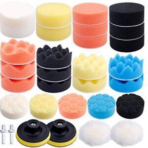3-Inch-Car-Polishing-Waxing-Buffing-Sponge-Pads-Kit-Set-Cleaning-Brush-Foam-Tool