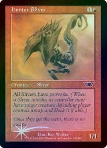 Hunter Sliver Foil Played MTG Legions Magic 2B3