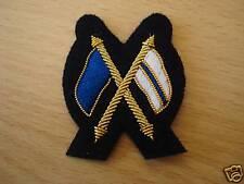 Sleeve Badge Cross Flags Black Signallers Mess Dress Army