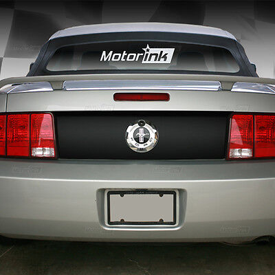 2005-2009 MUSTANG REAR DECK LID TRUNK BLACKOUT VINYL DECAL GRAPHICS STICKER FORD