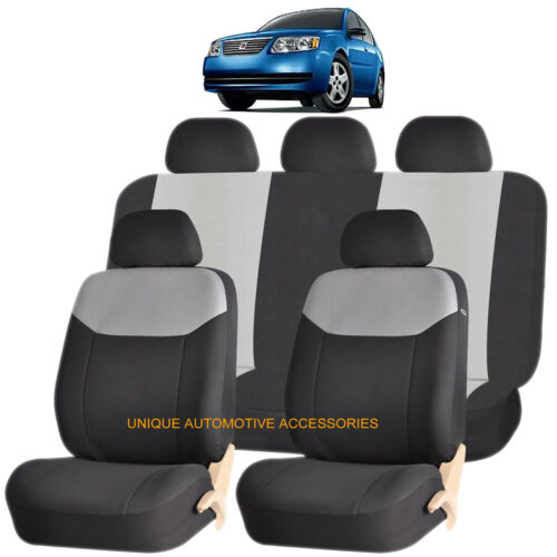 GRAY ELEGANT FRONT /& BACK SEAT COVERS SET for SATURN VUE OUTLOOK