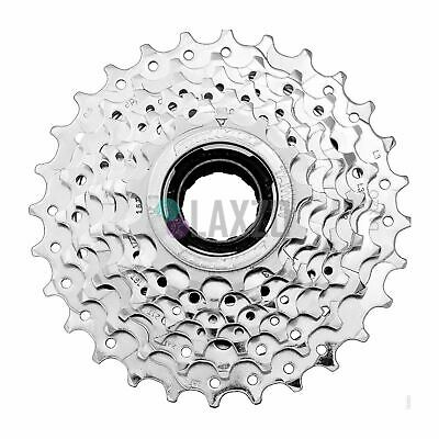 Cycling Cassettes, Freewheels & Cogs 2019 New Style Sunrace Multi Speed Bike Freewheel Silver 13/28t Ucp Index Chrome Plated 7 Speed Modern And Elegant In Fashion