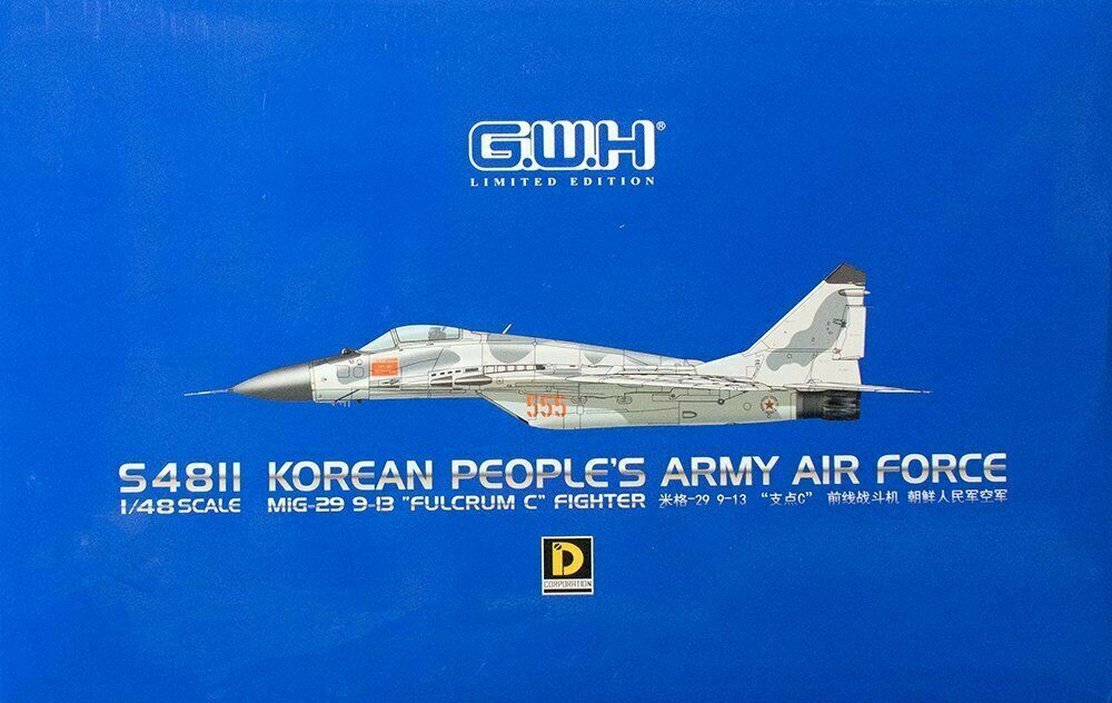 Great Wall Hobby S481 MiG -29 9 -13 FULCRUM C NoKoAF 1  48