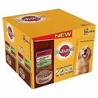 Pedigree Pouch Dog Food Gravy Real Meals 24x100g (pack of 2 Total 48 Pouche