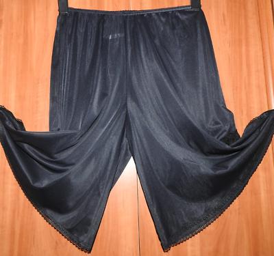 Übergröße!vintage Sexy Spitzen Nylon Langbeinschlüpfer Long Panty Gr.eu/46-50
