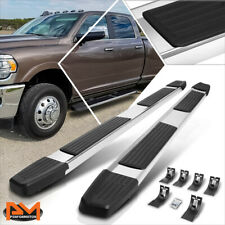 For 09 20 Ram 1500 3500 Truck Crew Cab 6 Side Step Nerf Bar Flat Running Boards Fits Dodge Ram 1500