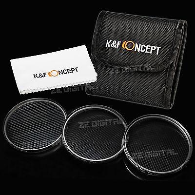 67mm 4 6 8 Point Star Lens Filter Kit for Nikon D7000 D90 18-105 Canon 18-135mm