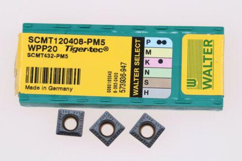 Walter SCMT120408  SPHW120412  SDGT09T3AEN  Wendeschneidplatten