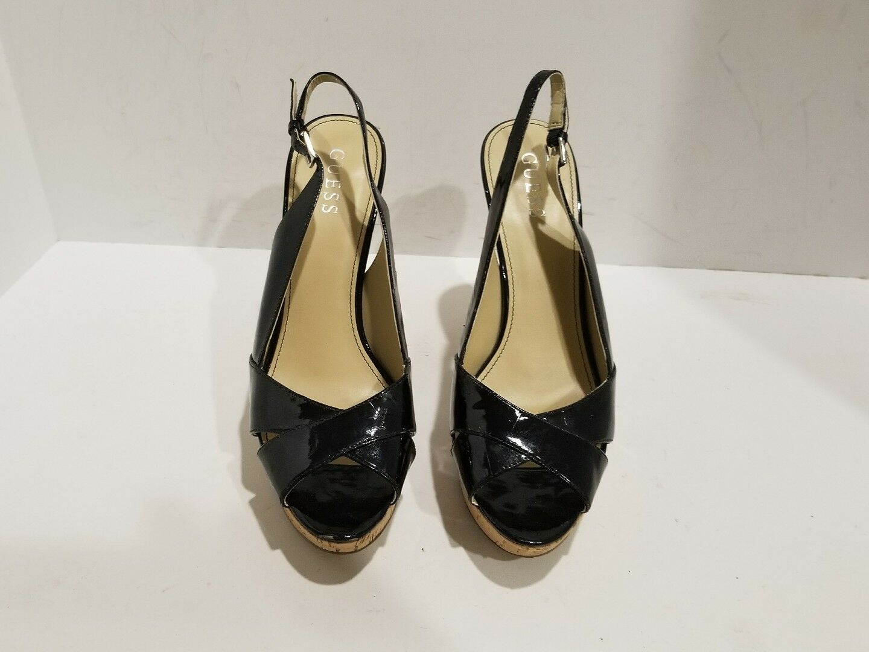Guess womens open size toe slingback heels size open 8.5 M af82e3