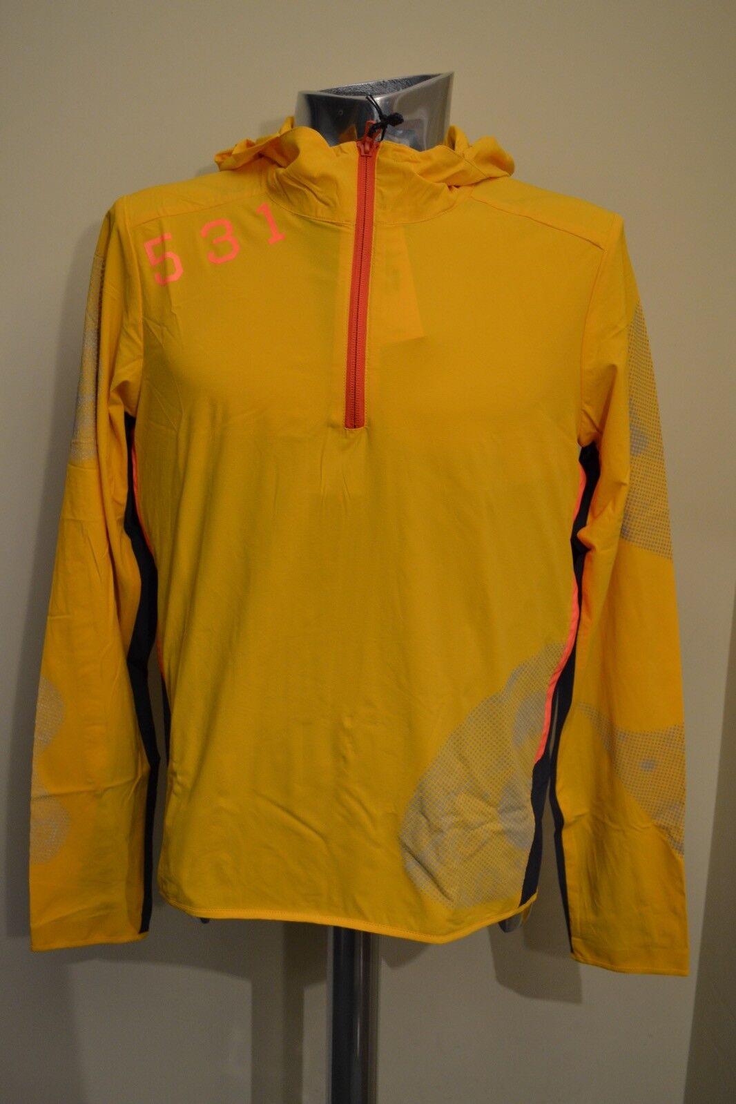 Paul Smith Smith Smith 531 Gelb Regenfest Radsport Kapuzenpullover GRÖSSE M NEU 6802a9