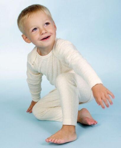 Lotties Frottee teilig aus 100/% Bio Baumwolle natur ungefärbt Schlafanzug 2
