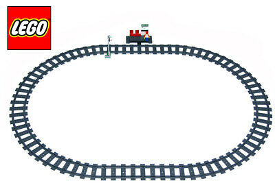 LEGO Train Track 16 Pieces Curve Curved Makes A Circle For 7938 7939 60051 60052