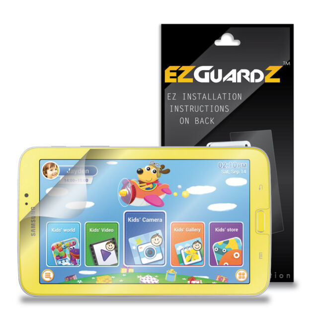 Clear 3X EZguardz Screen Protector Cover HD 3X For Samsung Galaxy Tab 4 7.0