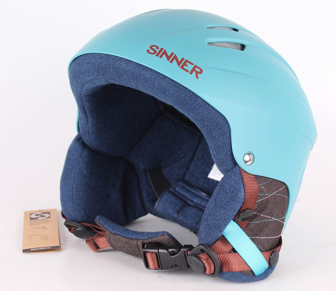 Sinner Empire Casque de Skihelm Snowboardhelm Matte Aquarelle XL 61cm