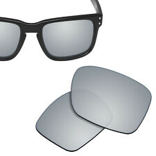 Polarized Replacement Lenses For-oakley Holbrook Sunglasses Silver Titanium