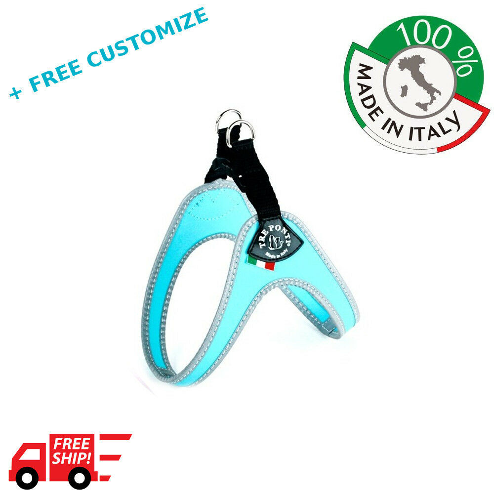 DOG HARNESSES TRE PONTI MOD. EASYFIT CLASSIC  FOR SMALL DOGS 100% MADE IN ITALY