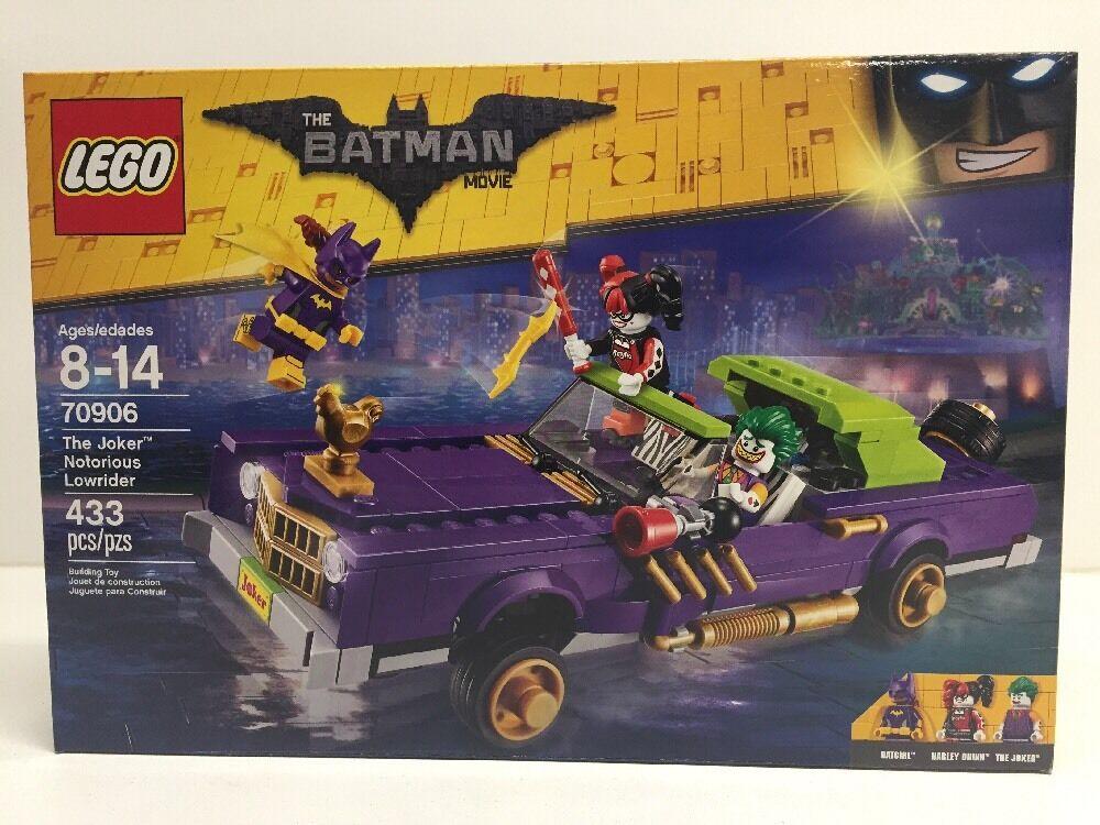 LEGO - Batman Batman Batman Movie 70906 The Joker Notorious Lowrider Sealed NIB PRIORITY SHIP 5a00f1