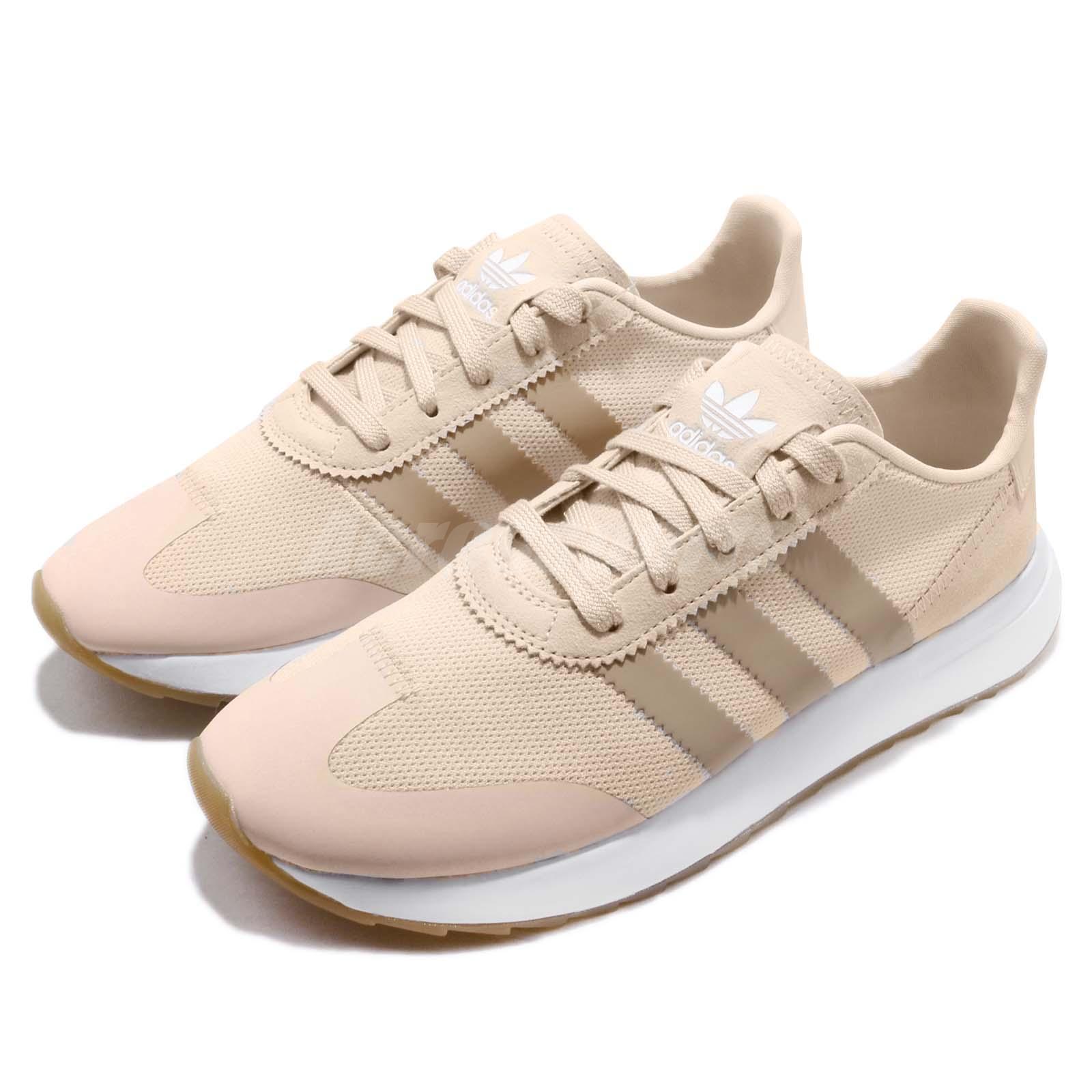 Adidas Originals FLB_Runner W Linen Ash Pearl Gum mujer mujer mujer Running zapatos B28181  ventas en linea