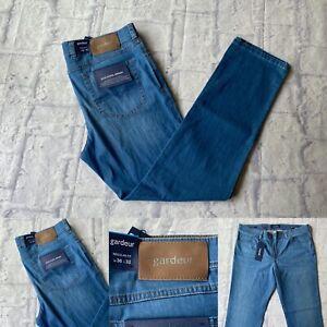 "Nevio 11 36R 32/""L BNWT Atelier Gardeur Jeans Regular Fit 36/""W"