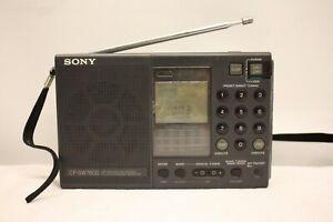 Sony-ICF-SW7600-Stereo-MW-SW-LW-FM-mondo-ricevitore-radio-vintage-di-ricambio-e-riparazione
