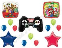 Super Mario Brothers Video Game Birthday Balloons Decoration Supplies Party